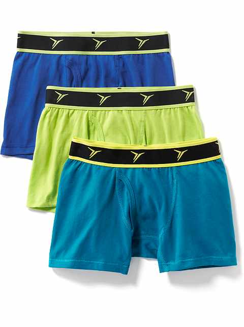 54dd31136c Go-Dry Boxer-Brief 3-Pack for Boys
