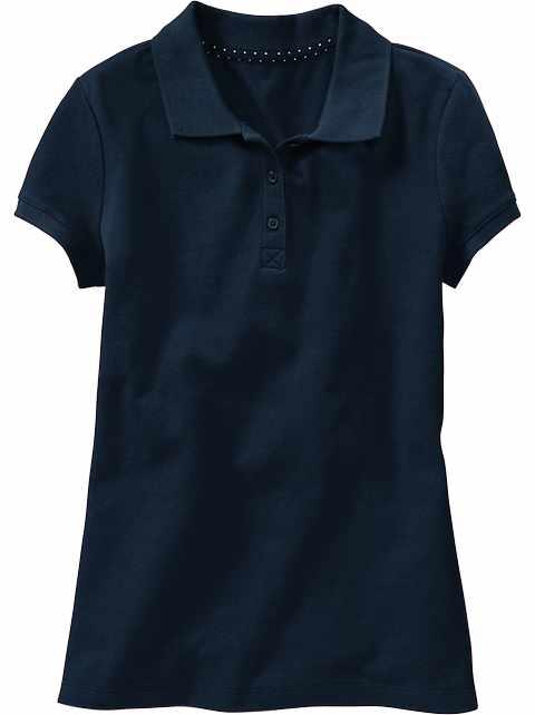 79091c29313b9 Uniform Pique Polo for Girls