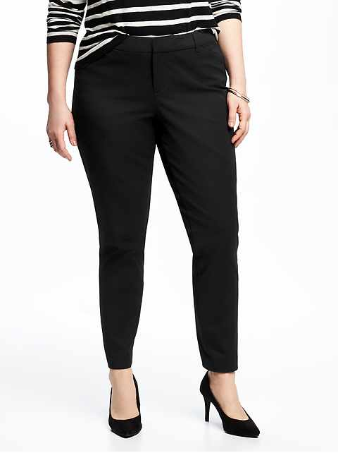 9737d07b16d Mid-Rise Secret-Slim Pockets Plus-Size Pixie Ankle Pants
