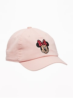 b5448bc0941 Disney  169 Minnie Mouse Baseball Cap for Toddler Girls