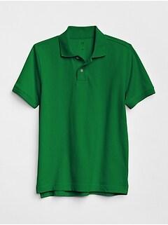 1af38c55 Kids Uniform Short Sleeve Polo Shirt