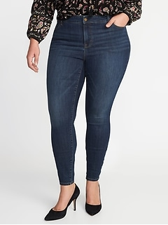 829f1f64db High-Rise Plus-Size Rockstar Super Skinny Jeans