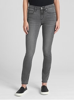 45751e3b2dc38 Soft Wear Mid Rise True Skinny Jeans