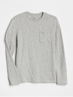 597dfce9778 Pocket Long Sleeve T-Shirt