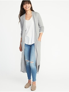 b3ecc7709b8 Super-Long Open-Front Duster for Women
