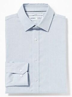 622901fa5f658 Slim-Fit Built-In Flex Signature Non-Iron Shirt for Men