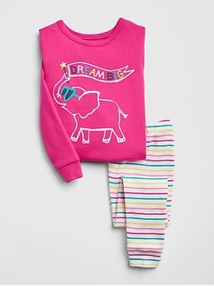 d77897f3d248 Toddler Girls Pajamas