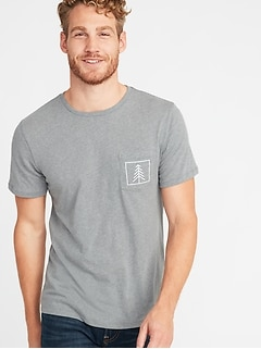 e0cad5c2edbf Soft-Washed Graphic Pocket Tee for Men