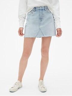 c30b4824ed4 High Rise Denim Mini Skirt