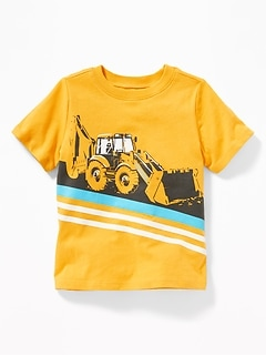 Graphic Crew-Neck Tee for Toddler Boys 4d1715385