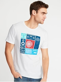 f37bf472143d Graphic Soft-Washed Tee for Men