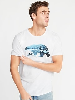 480a70efecd4 Graphic Soft-Washed Tee for Men