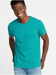 fdd82a197 Soft-Washed Perfect-Fit Crew-Neck Tee for Men