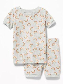 Rainbow-Print Sleep Set for Toddler   Baby ae4b07062