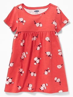 9c447b6b5a2a Printed Jersey Dress for Baby