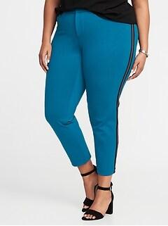Green Plus Size Pants