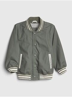 a13de809c1554 Toddler Stripe Varsity Jacket