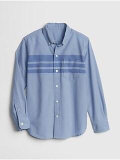 9915856cdb03ff Poplin Plaid Long Sleeve Shirt
