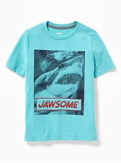 23d57c827 Graphic Crew-Neck Tee for Boys