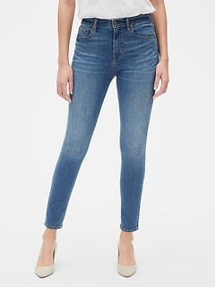 c738e09cff46 High Rise True Skinny Jeans with Secret Smoothing Pockets