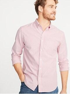 9a280b211ac Slim-Fit Built-In Flex Everyday Oxford Shirt For Men