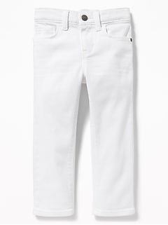 181a0b4aa Karate Built-In Flex Max Skinny White Jeans for Toddler Boys