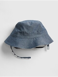 dfbbbd89a2c57 Baby Reversible Bucket Hat