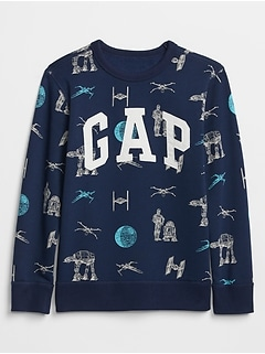 f790d8da4 Kids Gap   Star Wars? Graphic Pullover Sweatshirt