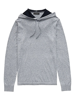 017406ce5485 SUPIMA® Cotton Sweater Hoodie