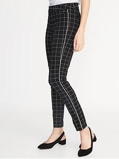 71d81a8f91298 Mid-Rise Printed Pixie Ankle Pants for Women