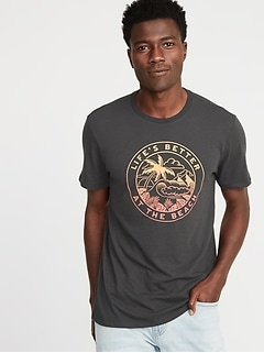 654ab8ec Graphic Soft-Washed Tee for Men