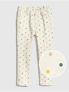 Baby Gap Toddler Girls Sparkle Legging Pants Stretch Cotton Size 12-18m Girls' Clothing (newborn-5t)