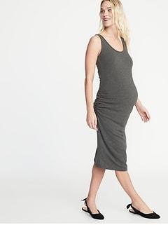 e3aa6a81ccc Maternity Bodycon Tank Dress