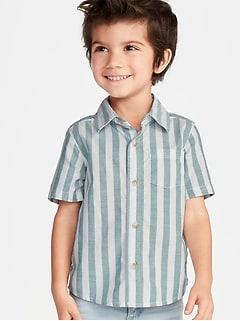 b7602243ddc8d Striped Oxford Shirt for Toddler Boys