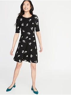 45a0002b260 Jersey Swing Dress for Women