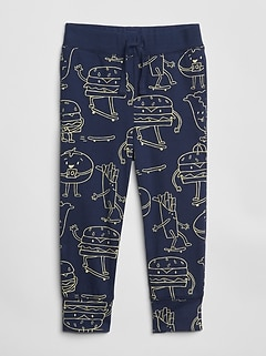 Boys' Clothing (newborn-5t) Baby Gap Toddler Boy Everyday Athletic Lined Blue Winter Pants Size 2 Matching In Colour Bottoms