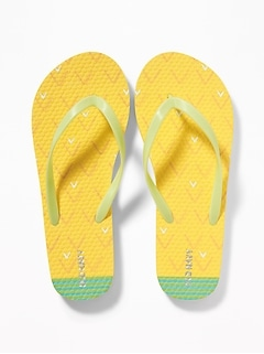 8ac934cb92a Printed Flip-Flops for Girls