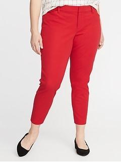 47b65803280 Mid-Rise Secret-Slim Pockets Plus-Size Pixie Ankle Pants