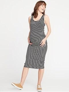 c9af60e1a4ac Maternity Bodycon Tank Dress