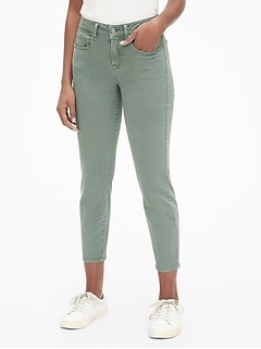 49114554a4e Mid Rise Curvy True Skinny Ankle Jeans in Color