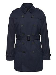 c6192410da98d Water-Resistant Trench Coat