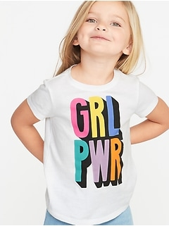 dd4ea83031bf2c Graphic Scoop-Neck Tee for Toddler Girls