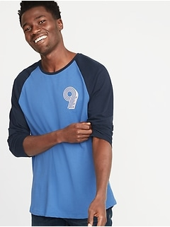 6a6746a5f Graphic Soft-Washed 3 4-Sleeve Tee for Men