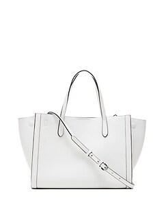 Italian Leather Medium Tailored Tote Bag dec8be66e78e5