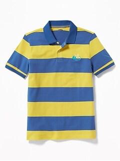 4875f6fce2 Boys Polo Shirts Old Navy. Vine Izod Lae Polo Shirt Blue X Green Stripes  Mens