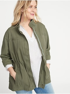 d9fe7c20f Women's Plus-Size Jackets, Coats & Outerwear | Old Navy