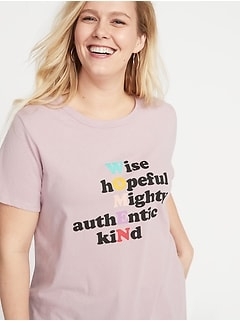 890e65cb35d EveryWear Plus-Size Graphic Tee