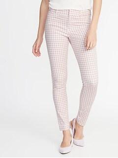 5c027ed9071 Mid-Rise Printed Pixie Full-Length Pants for Women