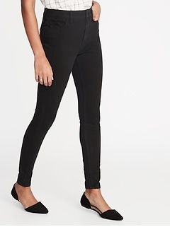 3a3f76829271 High-Rise Rockstar 24 7 Sculpt Super Skinny Black Jeans for Women