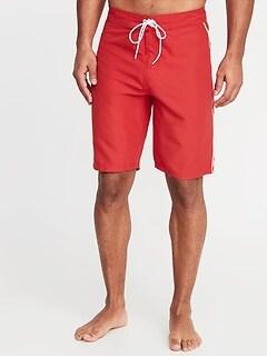 0fbaaeccda2 Side-Piping Board Shorts for Men - 10-inch inseam